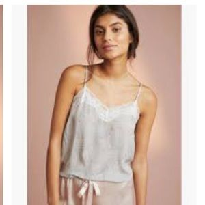 Anthropologie Floreat Dreamer sleep cami NWOT